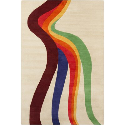 Filament Cinzia Cream/Multi Abstract Rug