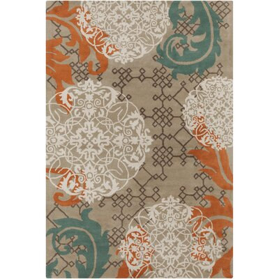 Filament Cinzia Dark Tan Abstract Rug