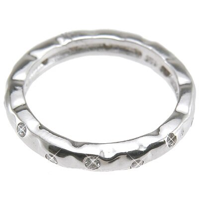 Plutus Partners .925 Sterling Silver Brilliant Cut Cubic Zirconia Wedding Band