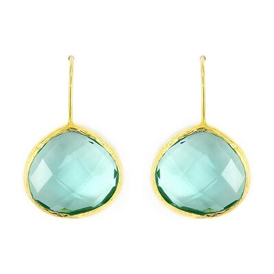 Semi-Precious Gemstone Drop Earrings