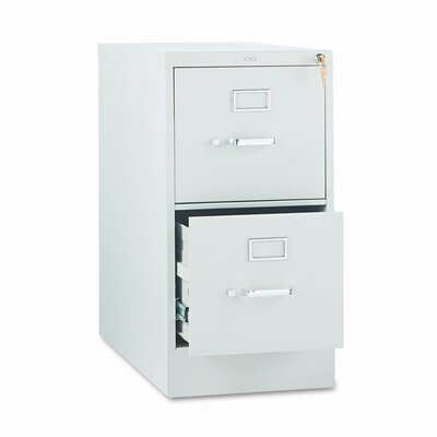 HON 210 Series Two-Drawer Letter Vertical File