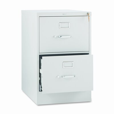 HON 510 Series Two-Drawer Vertical Legal Filing Cabinet