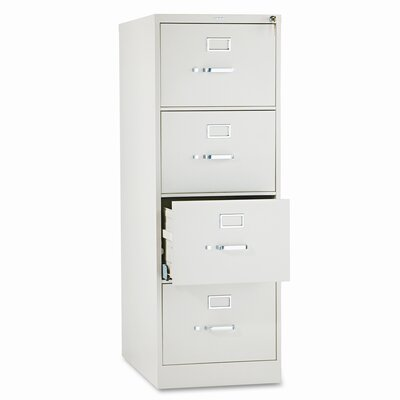 HON 510 Series Four-Drawer Vertical Legal Filing Cabinet