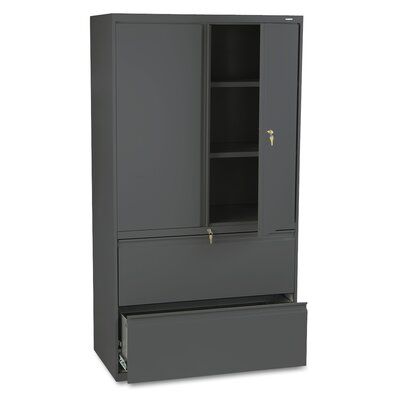HON 800 Series Lateral File with Storage
