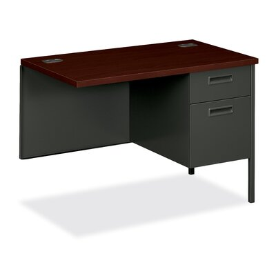 HON 10500 Series Single Left Box/File Pedestal Credenza