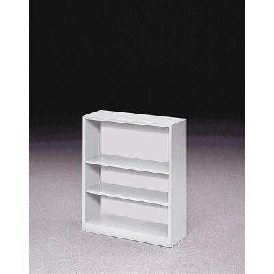 HON 41&quot; H Three Shelf Steel Bookcase