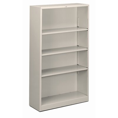"HON 59"" H Four Shelf Steel Bookcase"