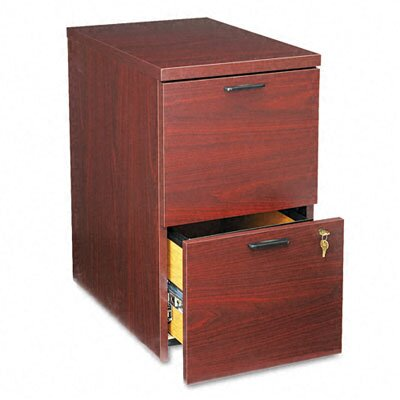 "HON 10500 Series File/File Mobile Pedestal, 15.75"" Wide"