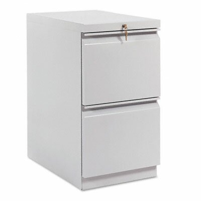 HON Efficiencies Mobile Pedestal File with Two File Drawers