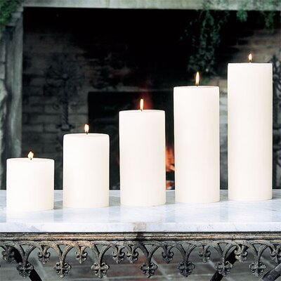 Global Views Unscented Pillar Candle