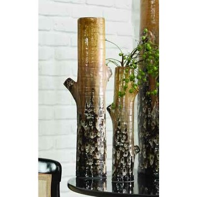 Golden Birch Vase