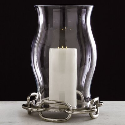 Global Views Grande Hurricane Candle Holder