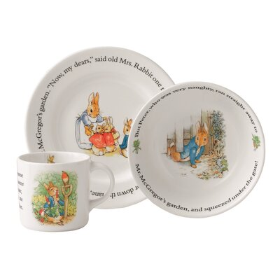 Peter Rabbit Original 3 Piece Place Setting