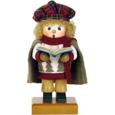 Caroling Girl Nutcracker