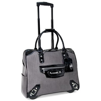 Cabrelli Inc Multi Textured Roller Briefcase
