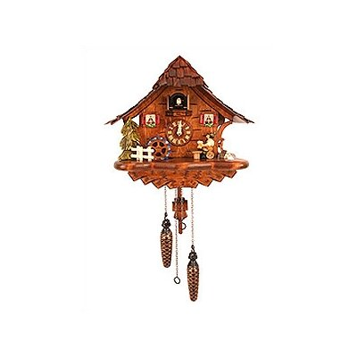 Black Forest Cuckoo Clock with Music, Beer Drinker and Dancer