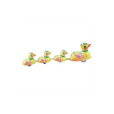Alexander Taron Tin Duck Family Toy