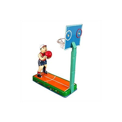 Alexander Taron Tin Basketball Player Toy