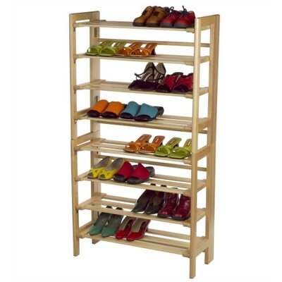 Winsome Basics 4 Tier Shoe Rack