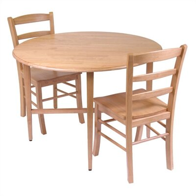 Winsome Basics 3 Piece Dining Set