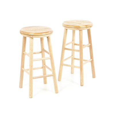"Winsome Classic 24"" Swivel Bar Stool (Set of 2)"
