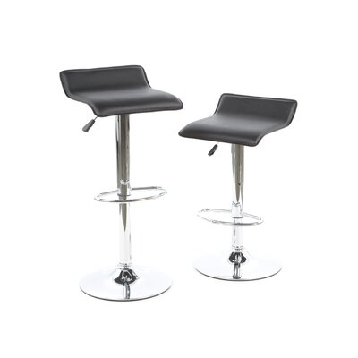 Adjustable Airlift Bar Stool (Set of 2)