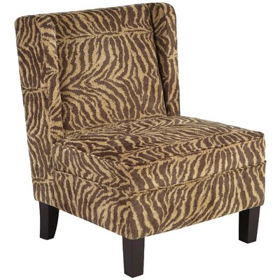 Bombay Heritage Safari Print Chair