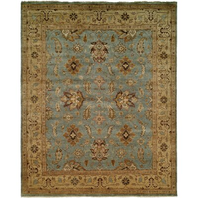 Light Blue / Gold Rug