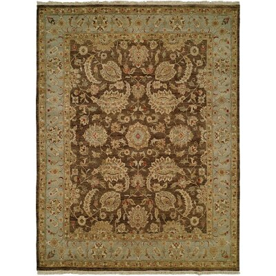 Wildon Home ® Brown / Blue Rug