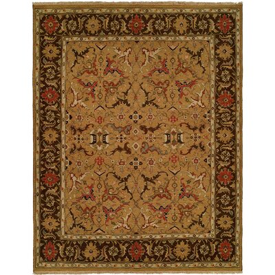 Gold / Brown Rug