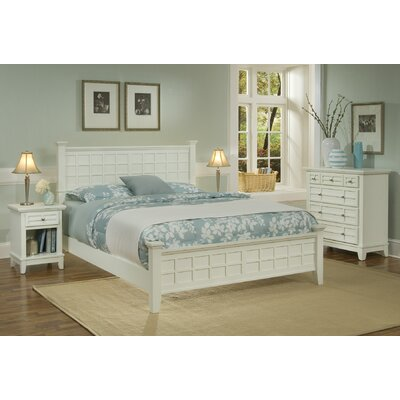 Home Styles Arts and Crafts Panel 3 Piece Bedroom Collection