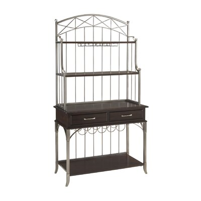 Home Styles Bordeaux Storage Baker's Rack
