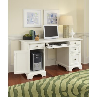 Home Styles Naples Pedestal Desk