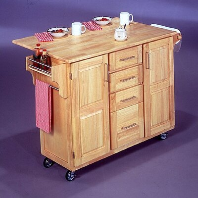 Breakfast Bar Kitchen Cart