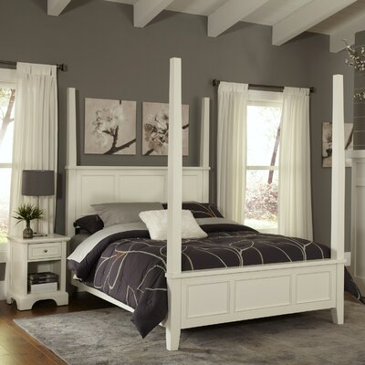 Home Styles Naples Four Poster 2 Piece Bedroom Collection