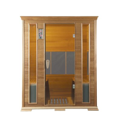 Goldenwave (Cedar) 4 Person Nano Carbon Sauna