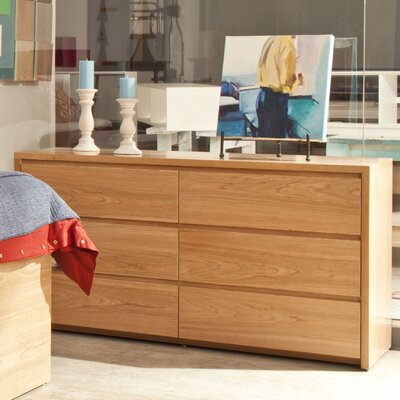 Urbangreen Thompson 6 Drawer Dresser