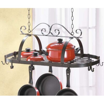 Basic Kitchen Hanging Pot Rack