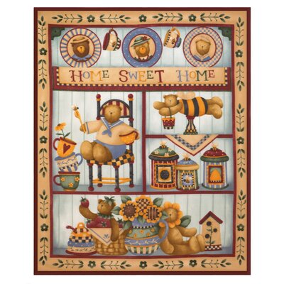 Zingz & Thingz Country Bear Polyester Fleece Throw