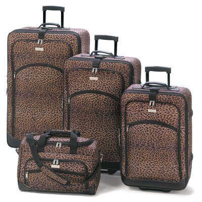 Zingz & Thingz 4 Piece Luggage Set