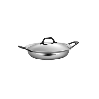 Limited Edition Butterfly Stainless Steel 3-qt. Everyday Pan with Lid