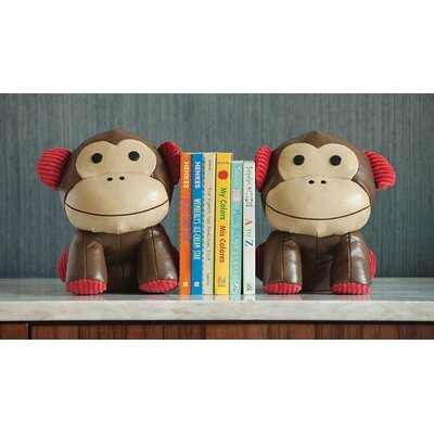Skip Hop Zoo Bookends Monkey