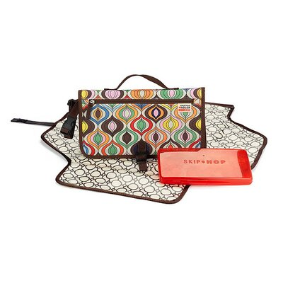 Skip Hop Jonathan Adler Pronto Changing Station in Wave Multi
