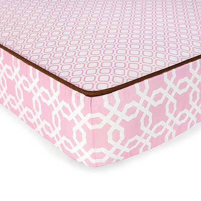 Skip Hop Lattice Complete Sheet in Pink