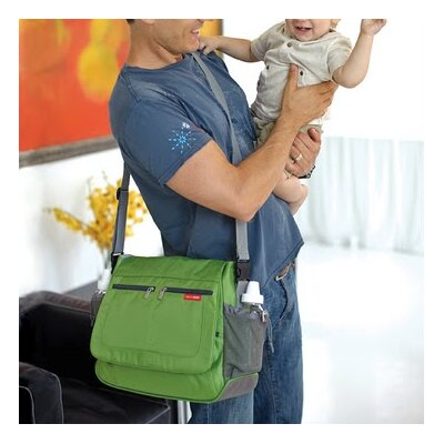 Skip Hop Via Messenger Diaper Bag