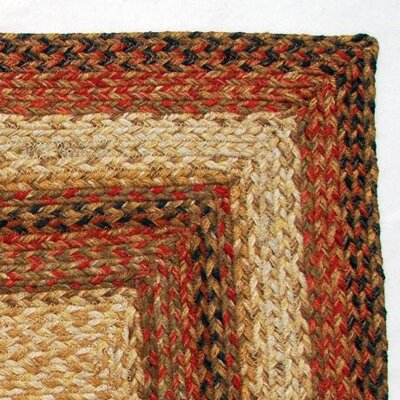 Green World Rugs Rectangular Russet Stair Treads (Set of 13)