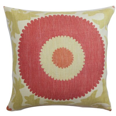 Yspaddaden Floral Cotton Pillow