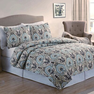 Paisley 4 3 Piece Quilt Set