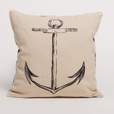 Ortolan Hemp Anchor Pillow