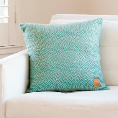 Asher Market Seafoam Alpaca Throw Pillow